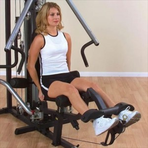 Seated knee extensions can lead to weak knees as you age. Opt for squats and lunges instead.