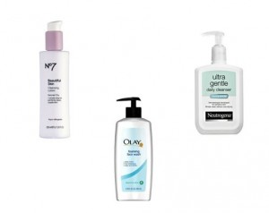 Neutrogena, Olay and Boots are known to sell face cleansers that are 100% alcohol free
