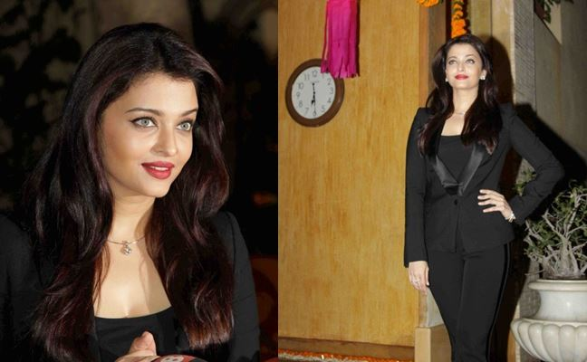 Here's what Aishwarya wore to the press meet on her birthday