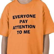 How to deal with attention seekers adults