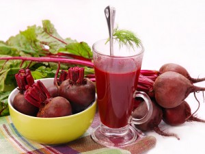 Beetroot and celery juice is a great immune booster in winter