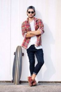This outfit is perfect for a skater boy, because the charm is spot on!