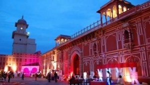 Jaipur City Palace during New Year's Eve