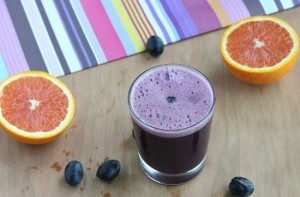 Orange and grape juice is rich in vitamin C that protects our cells from damage