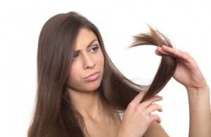 Split ends are formed due to friction caused by towel drying hair