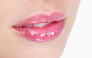 A touch of lip gloss can make your lips look attractive and sexy