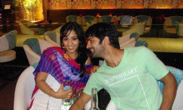 Barun with his pretty wife, Pashmeen Manchanda