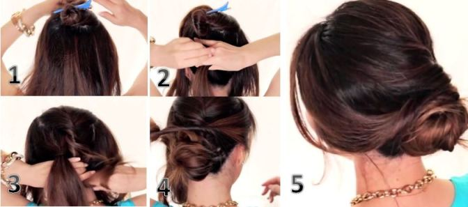 5 Easy Hairstyles For The Lazy Diva The Brunette Diaries