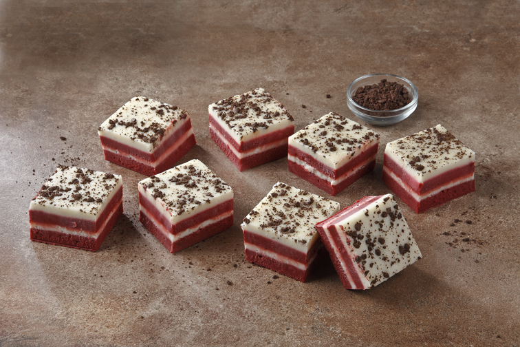 This red velvet fudge is the most easiest and quickest of all sweets