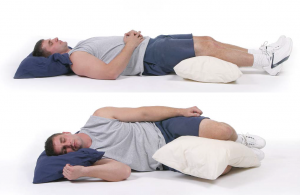 Sleeping in the right posture ensures a good night's sleep