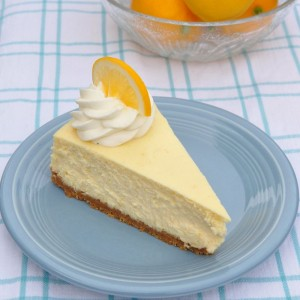 Who could resist a bite of Lemon cheesecake