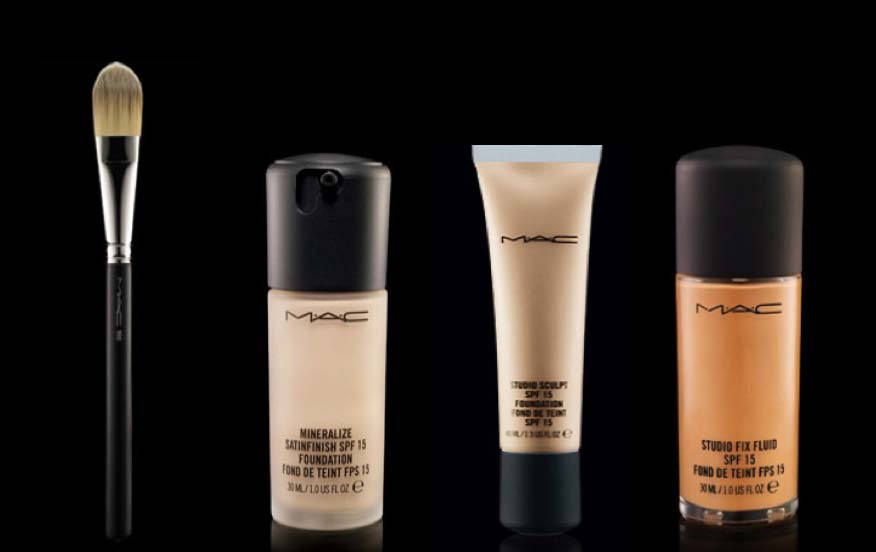 ... MAC has various types of foundations; there's something for everyone