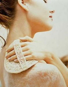 Exfoliate your skin once a week in winter to remove the dead skin