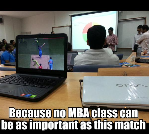 MBA, India, versus, Pakistan, World Cup, Match,