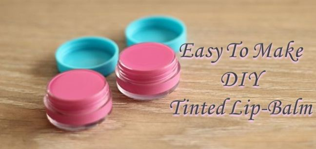 DIY Tinted Lip Balm For Lusciously Soft