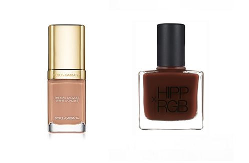 Caramel and mocha shades go well with darker complexions, Nude Nail Paints,