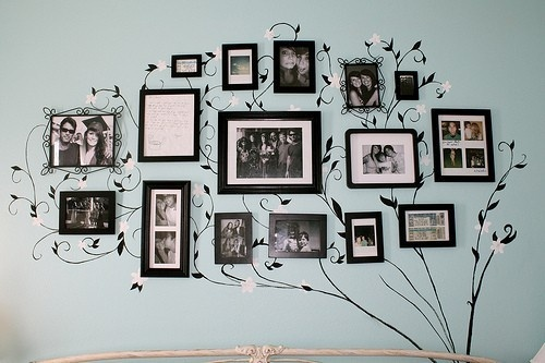 There Is Nothing More Nostalgic That Your Family Tree On Wall
