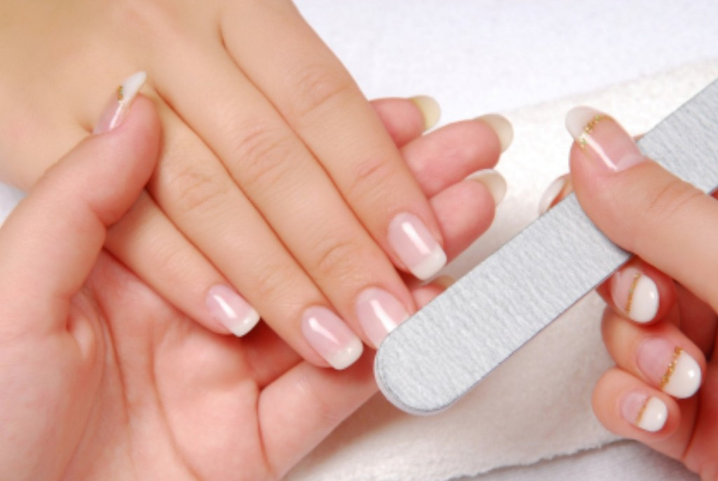 Go for a regular manicure to keep your nails, nice and healthy, younger hands,