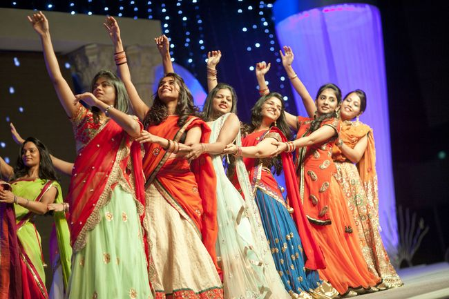 Sangeet is a fun song-and-dance ritual celebrated in most Indian weddings