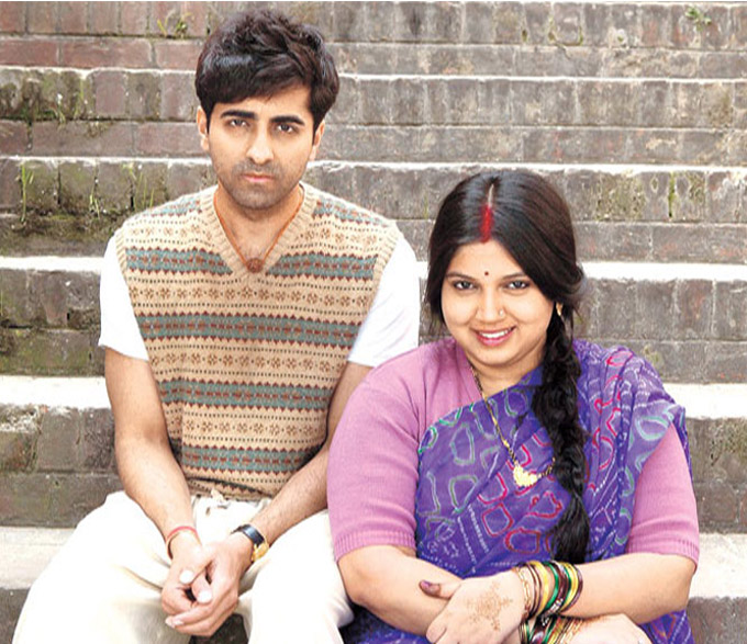 "In the movie 'Dum Laga Ke Haisha', Ayushmann Khurrana's character takes time to accept his wife who's ""not slim"""