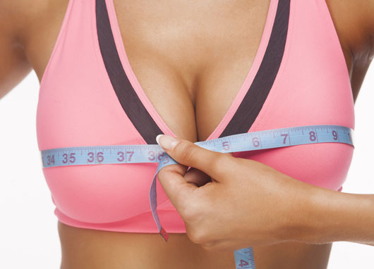 Get a bra sizing done to ensure you wear the right bra size, Small bust ,