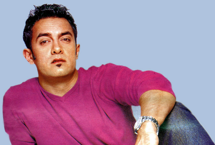 Aamir's made the soul patch popular with his look in 'Dil Chahta Hai'
