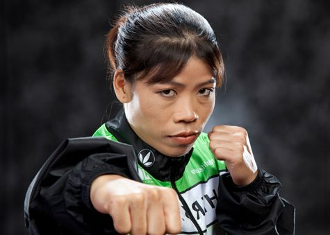 Five-time World Boxing Champion, Mary Kom