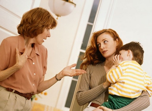 Mothers-in-law don't love nagging they just need to feel respected as an important part of the house
