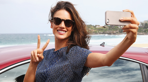 Strike your signature pose to look better in photographs, selfie,