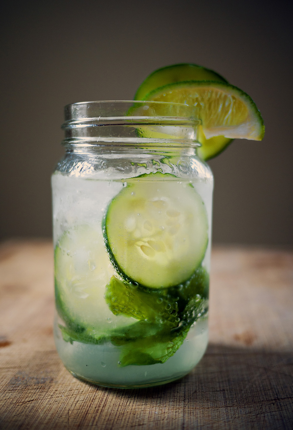 Virgin Cucumber Mojito, mocktails,