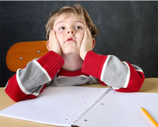 Children with ADHD find it difficult to pay attention or concentrate on one thing