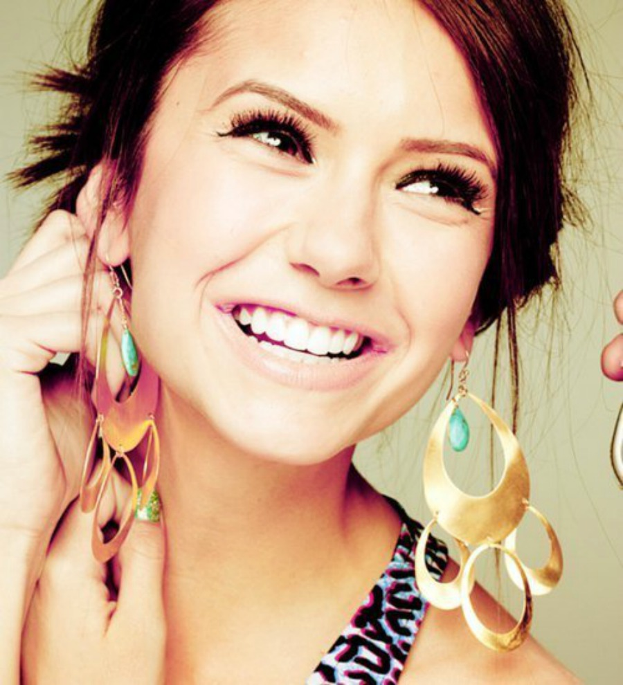 Chunky earrings, Tricks to look sculpted,