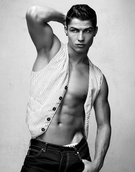 Cristiano Ronaldo, best looking men, footballers, most handsome, hot, charming, stylish,