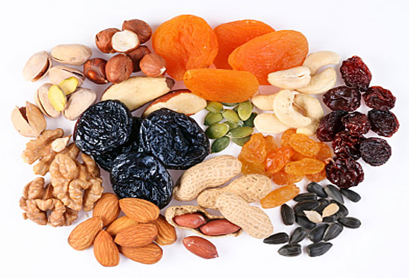 Dry fruits and nuts are a good option to make you fat