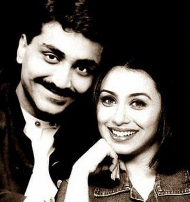 Here's a rare photo of Rani Mukerji with her husband Aditya Chopra