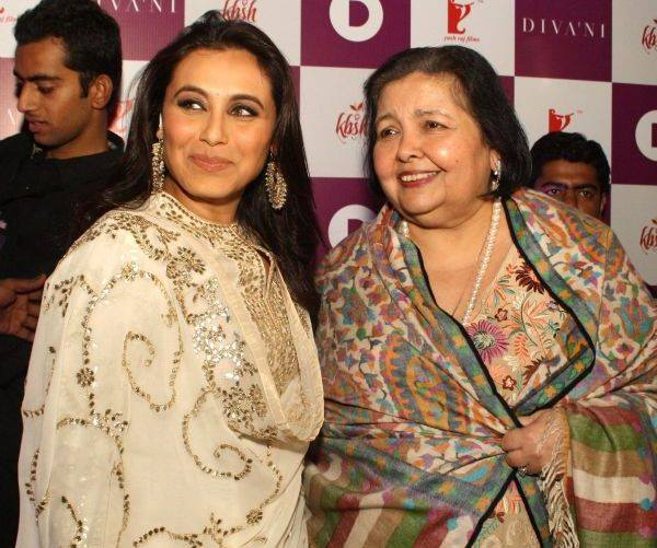 Rani shares a great rapport with her mother-in-law Pamela Chopra