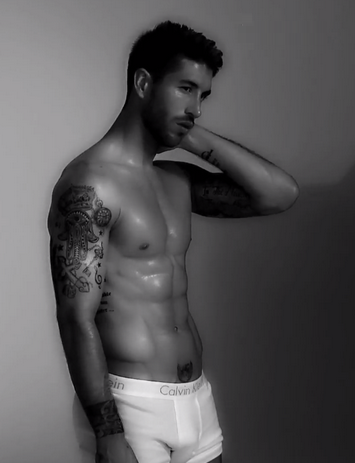 Sergio Ramos looks amazingly hot, stylish, and charming,  handsome,