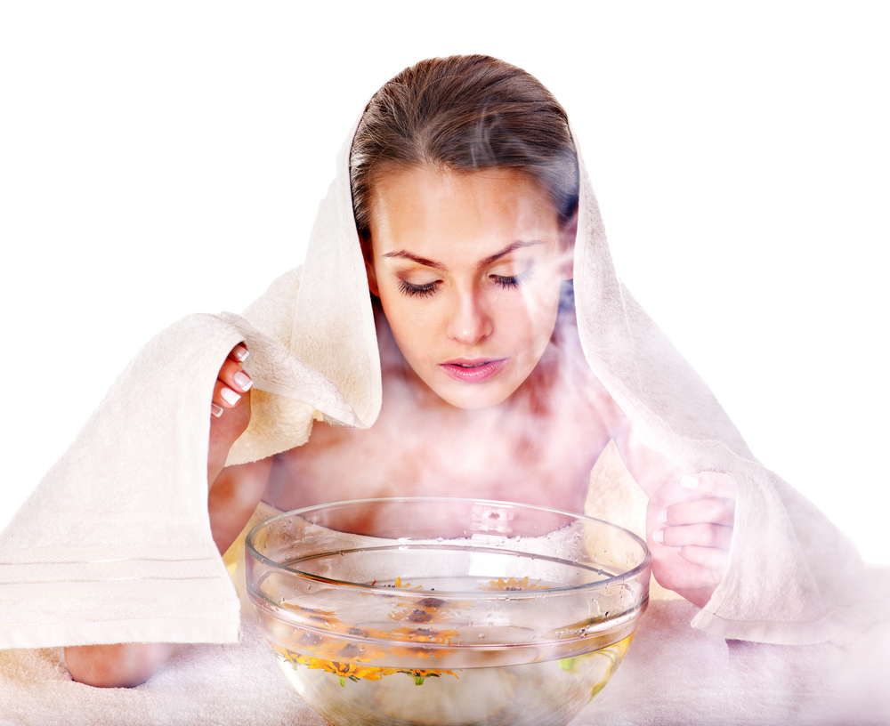 Facial steaming is extremely beneficial for the skin