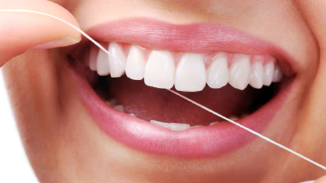 Flossing before brushing your teeth and after every meal is a good oral hygiene habit