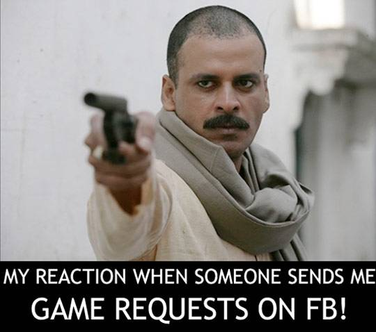 Sending continuous Facebook game requests can be really irritating