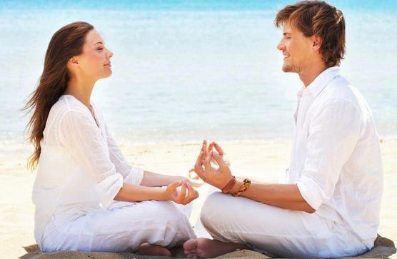 Yoga keeps you calm, relaxed and strengthens your relationship.