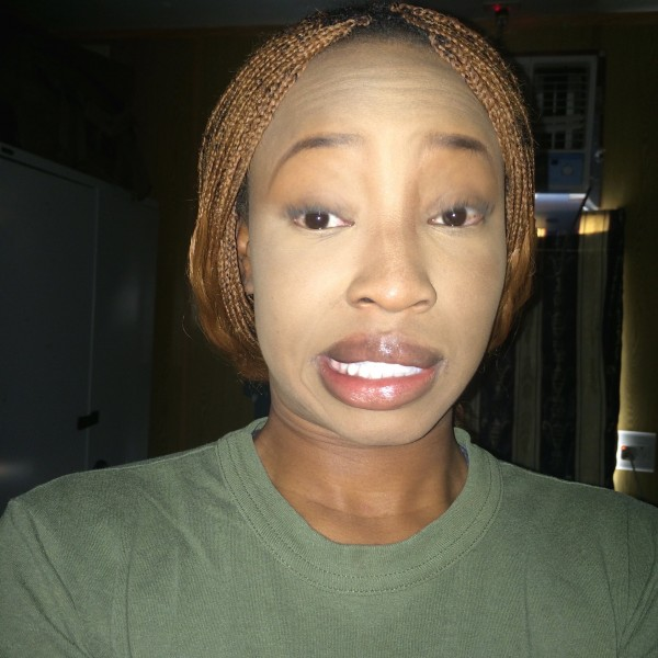 ... wrong shade of foundation, girl looking scary with ashy foundation, makeup gone wrong,