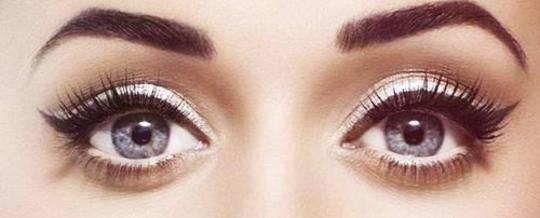 tricks to make eyes look bigger and brighter