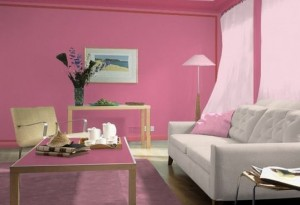 Light pink reportedly has a soothing effect.