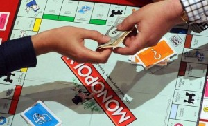 Board games like Monopoly, Payday and Game of Life are great
