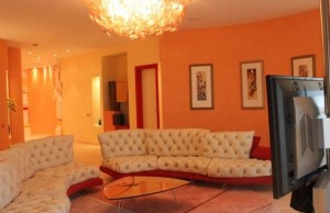 Orange evokes excitement, enthusiasm and is an energetic color.