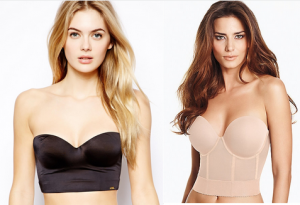Strapless Bra From Falling