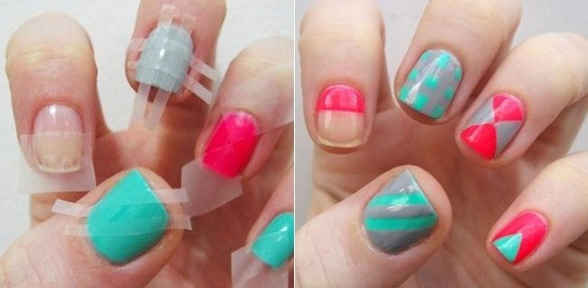 Super Easy And Super Awesome Nail Art Hacks The Brunette Diaries