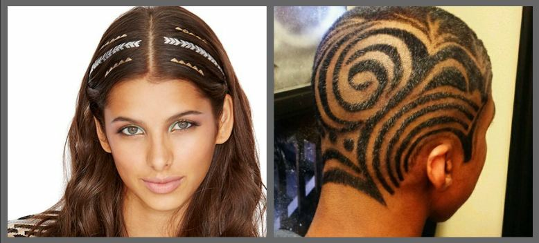 Hair tattoo India