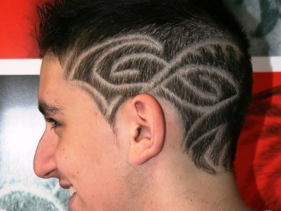 Get A Hair Tattoo To Add The X-Factor To Your Style | The Brunette ...